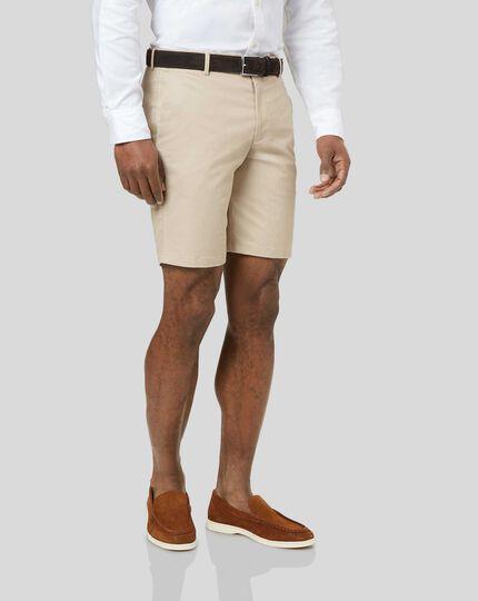 Chino-Shorts - Leichtgrau