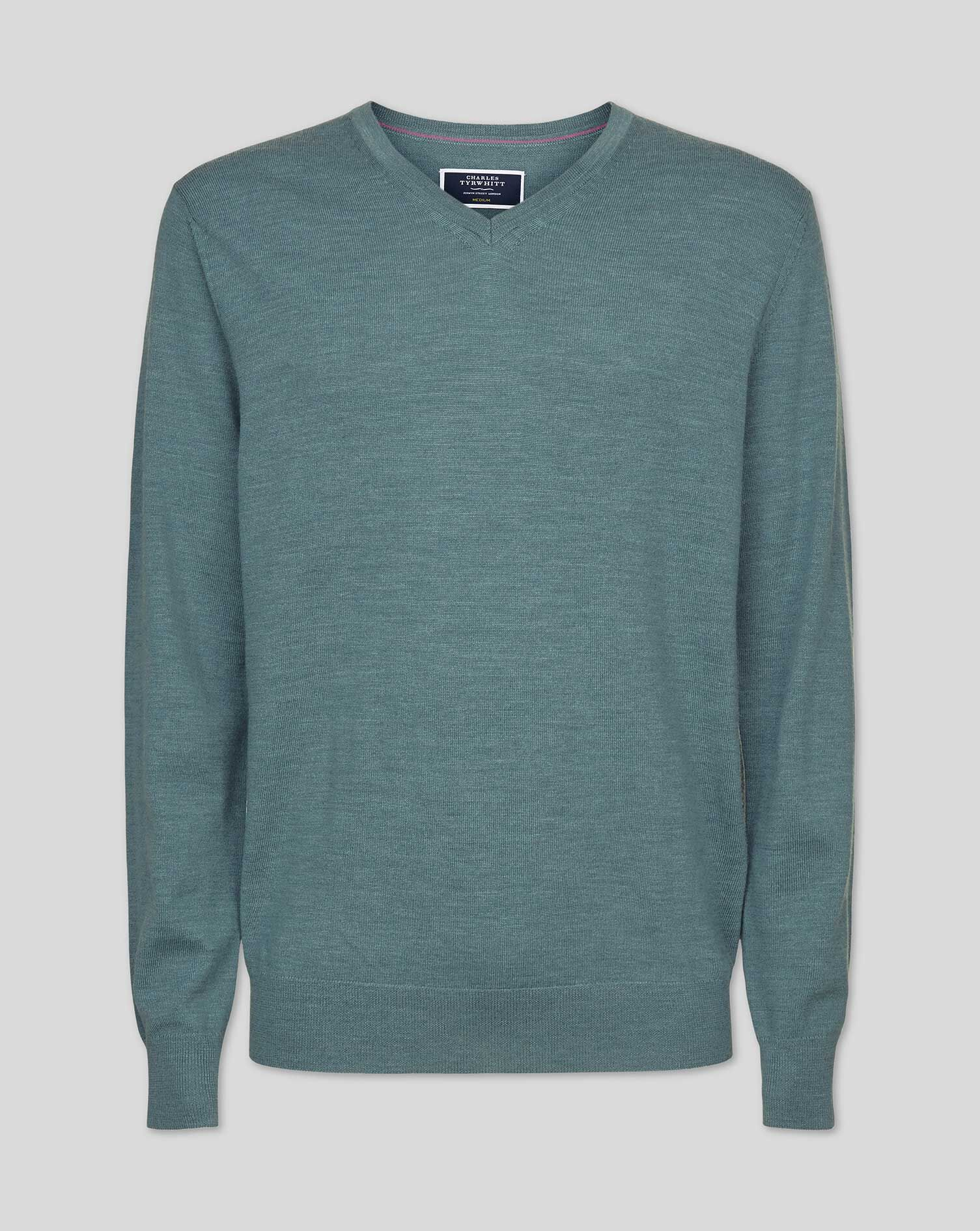 Men/'s Plain Jumpers V-Neck for Business Office Knitwear Navy Dark Blue