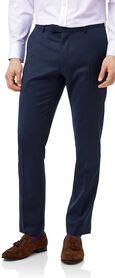 Mid blue extra slim fit Italian natural stretch suit