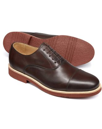 Chaussures Oxford marron