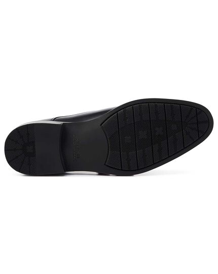 Black performance monk shoes