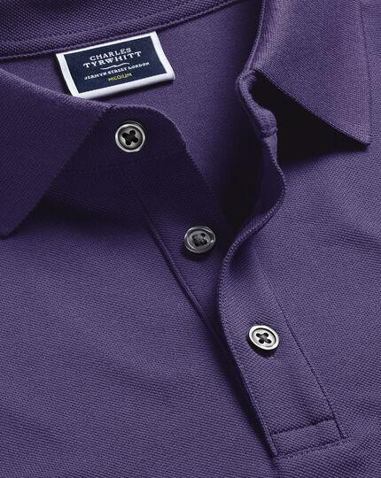 Tyrwhitt Piqué-Polo - Violett