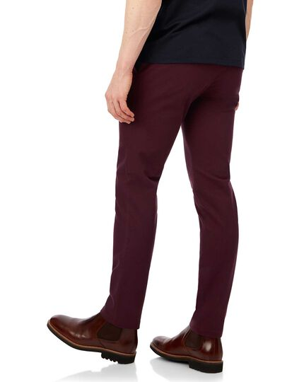 Berry non-iron ultimate chinos