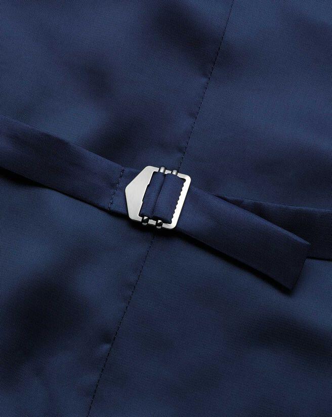 Airforce blue check slim fit twist business suit