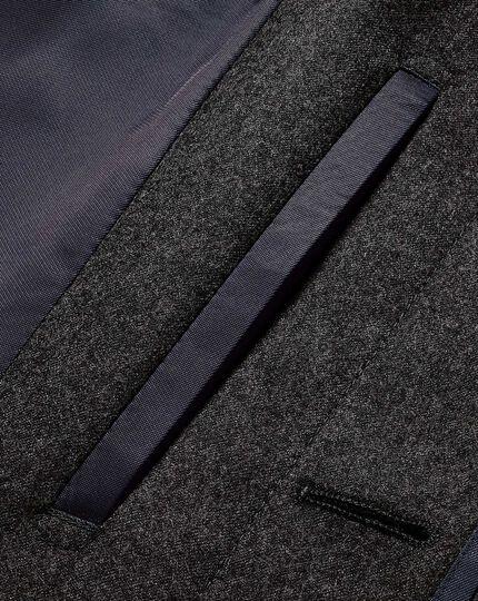Grey Italian wool raincoat