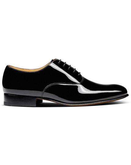 Werrington Derby Oxford-Schuh aus Lackleder in Schwarz
