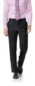 Black twill classic fit business suit
