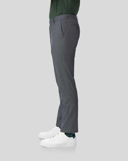 Pantalon Stretch sans repassage - Bleu marine