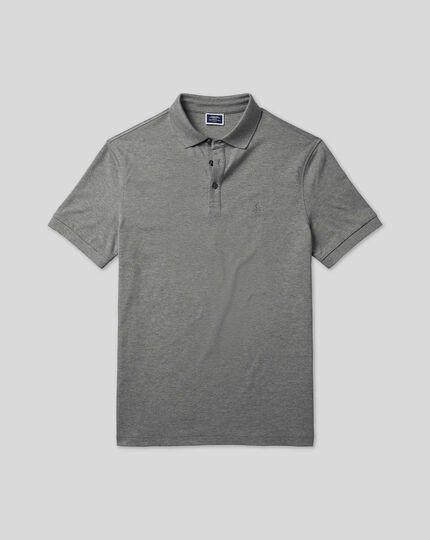 Tyrwhitt Piqué-Polo - Grau