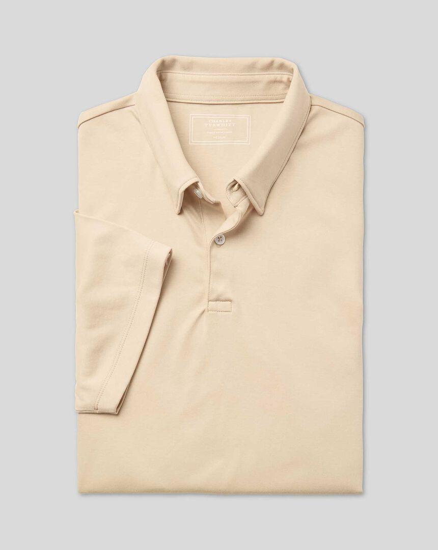 Smart Jersey Polo - Stone
