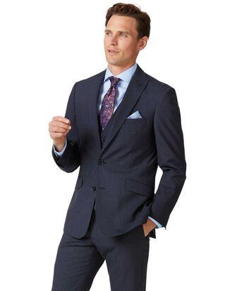 Twist Businessanzug-Sakko Slim Fit mit Streifen in Blau