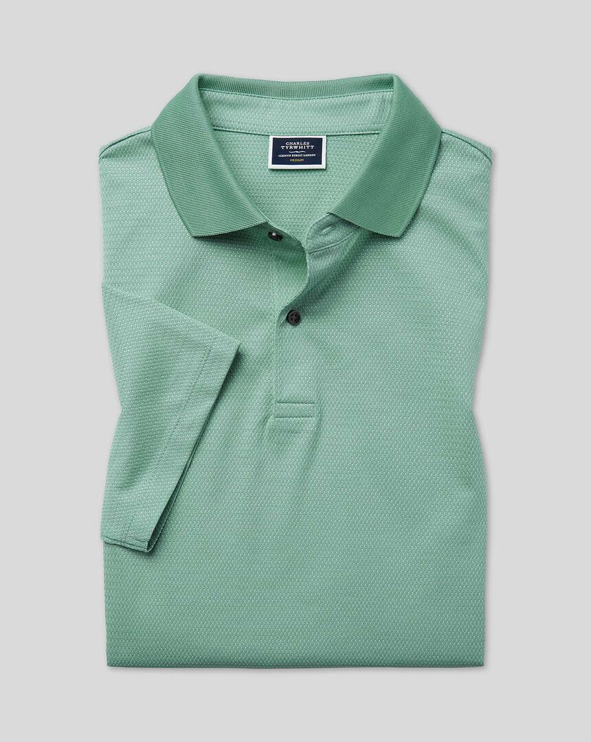 Tyrwhitt Cool Polo - Green
