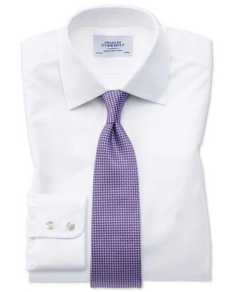 Extra slim fit Oxford white shirt