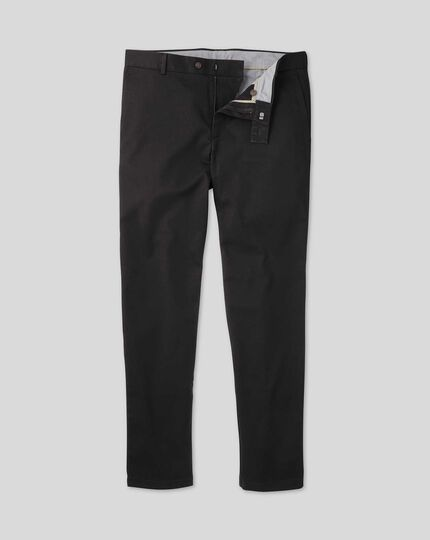 Ultimate Non-Iron Chinos - Black