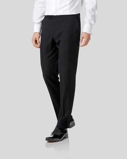 Tuxedo Trousers - Black