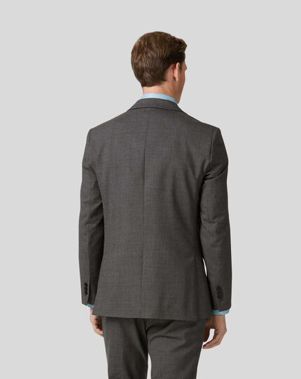 Merino Business Suit Jacket - Grey