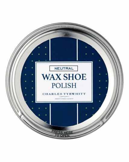 Neutral shoe polish