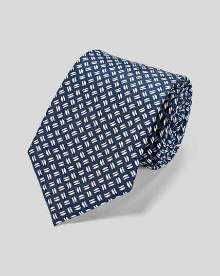 England Rugby Rugby Ball Tie - Blue