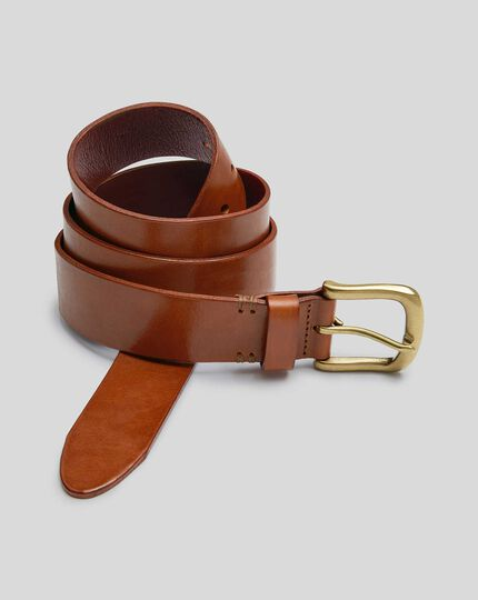 Casual Chino Belt - Brown