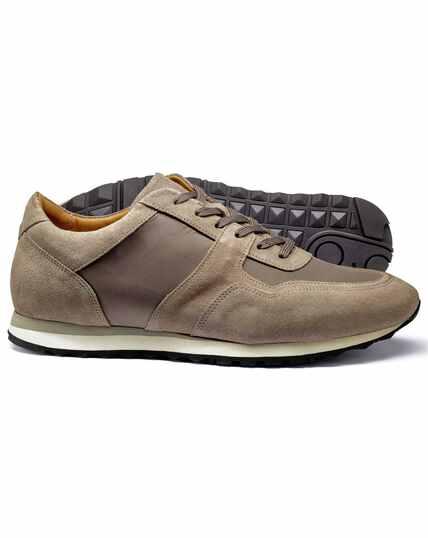 Lichtbruine sneakers
