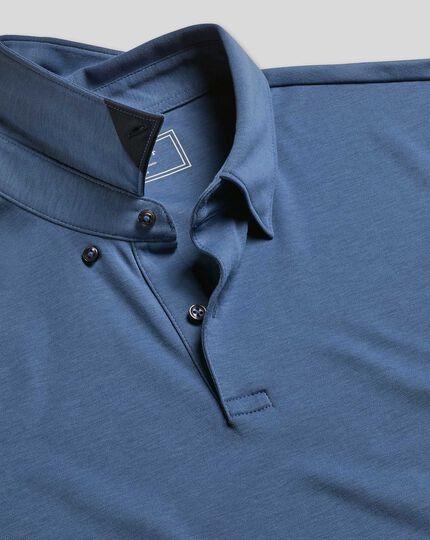 Smart Jersey Polo - Blue