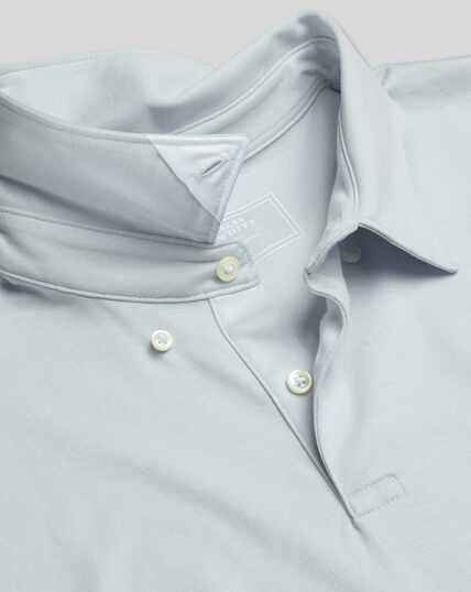 Smart Jersey Polo - Ice Blue