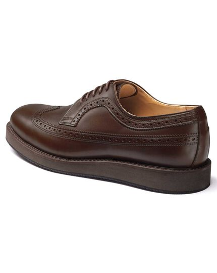 Chocolate Derby shoes