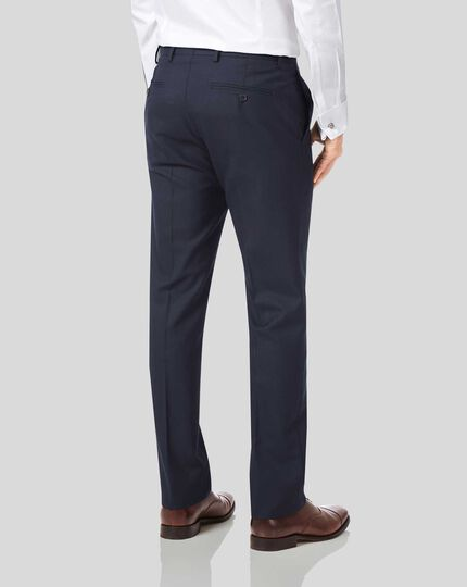 Business Suit Pants - Midnight Blue