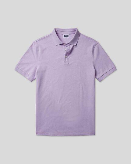 Tyrwhitt Pique Polo - Lilac