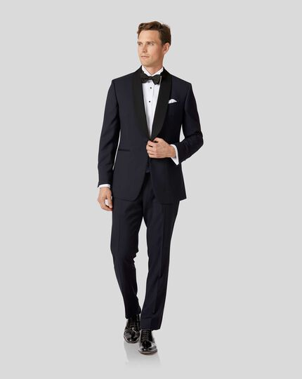 Shawl Collar Tuxedo - Midnight Blue