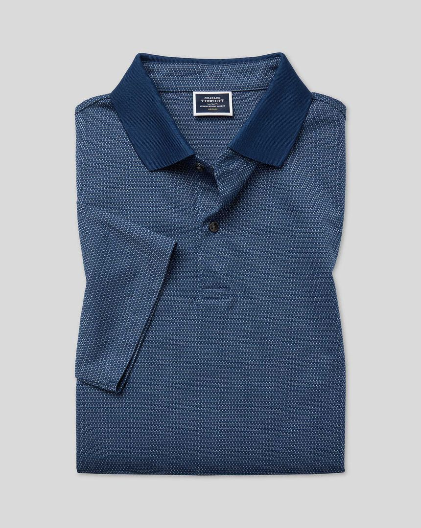 Tyrwhitt Cool Polo - Blue