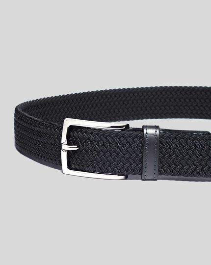 Casual Stretch Belt - Navy
