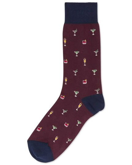 Wine cocktails socks