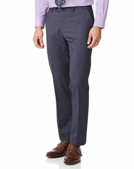 Airforce stripe classic fit Panama business suit trouser
