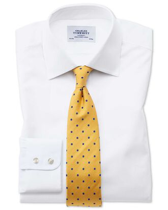 Chemise blanche oxford slim fit