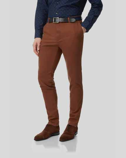 Ultimate Non-Iron Chino - Rust