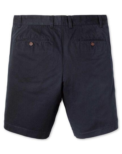 Short chino bleu marine