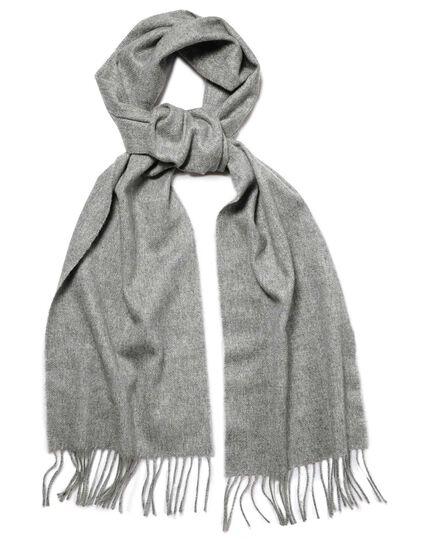 86e468687c8 Grey cashmere scarf