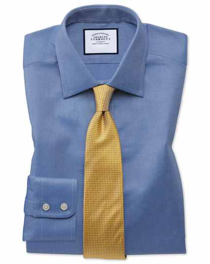 Slim fit Egyptian cotton royal Oxford royal shirt