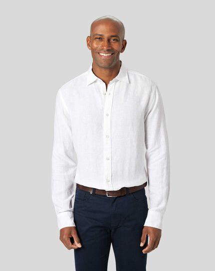 Linen Shirt - White