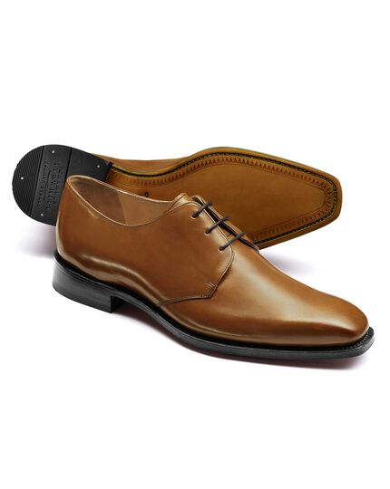 Tan Soho Derby shoes