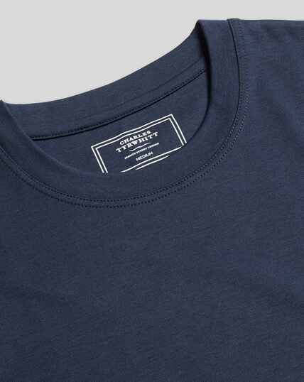 Cotton Tyrwhitt T-Shirt - Navy