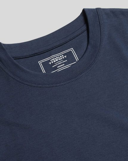 Tyrwhitt T-Shirt aus Baumwolle - Marineblau