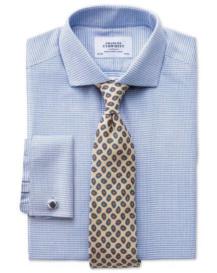 Stone silk print luxury tie