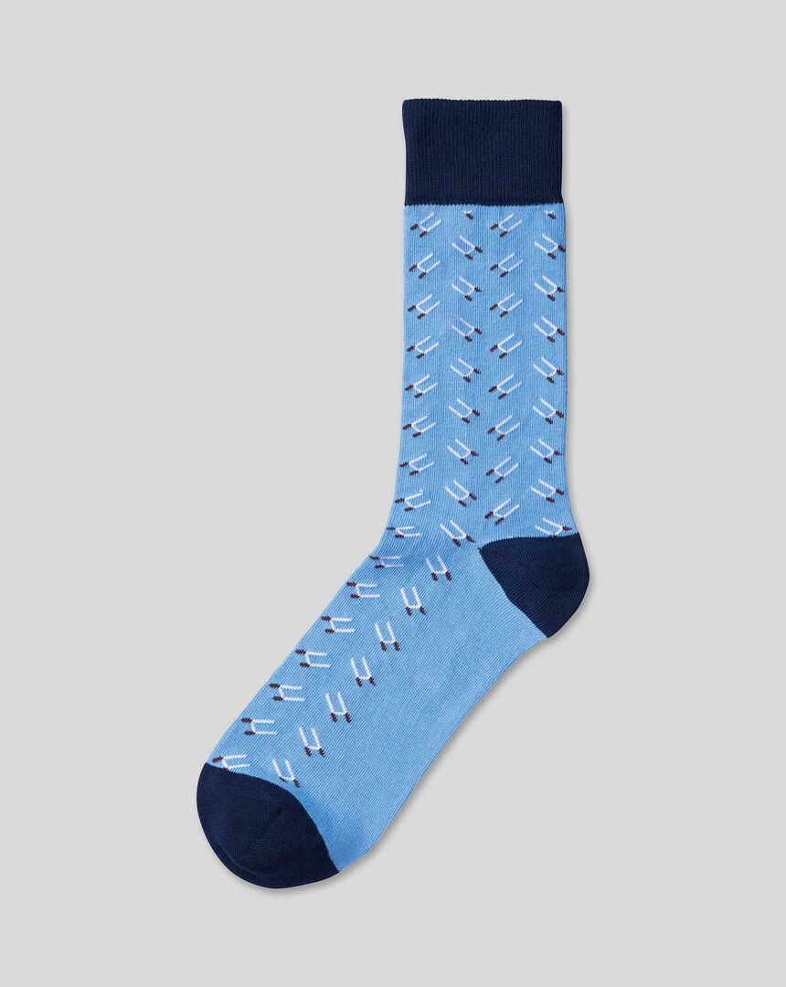 England Rugby Rugby Post Socks - Sky