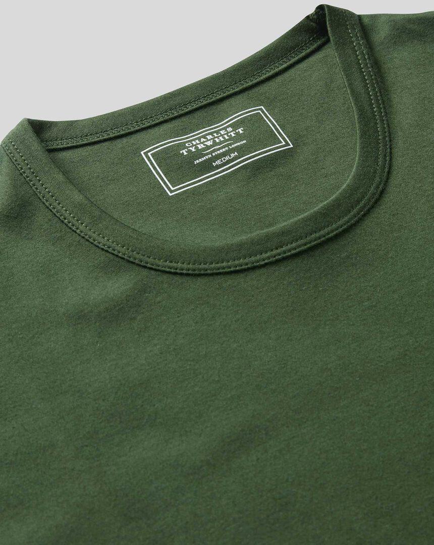 Smart Jersey Tyrwhitt T-Shirt - Green