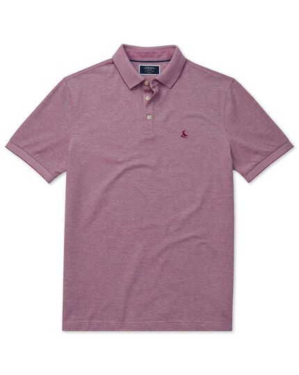 Lapwing polo Oxford myrtille
