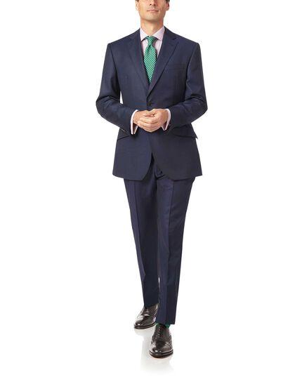 Veste de costume bleu marine en luxueux tissu italien slim fit