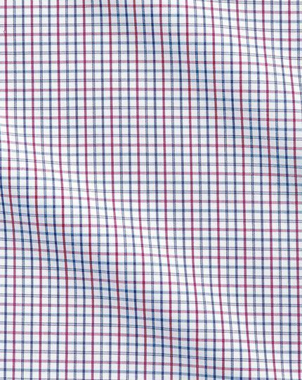 Non-Iron Grid Check Shirt - Multi