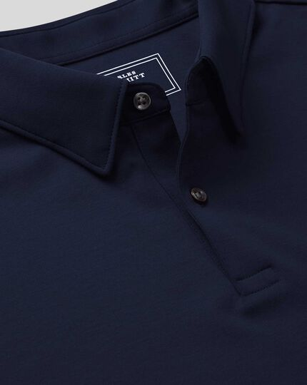 Smart Jersey Polo - Navy